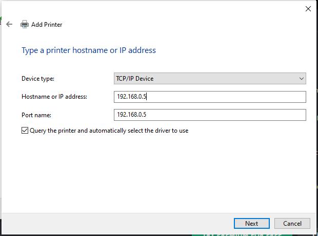 adding printer to fix 0x00000bc4