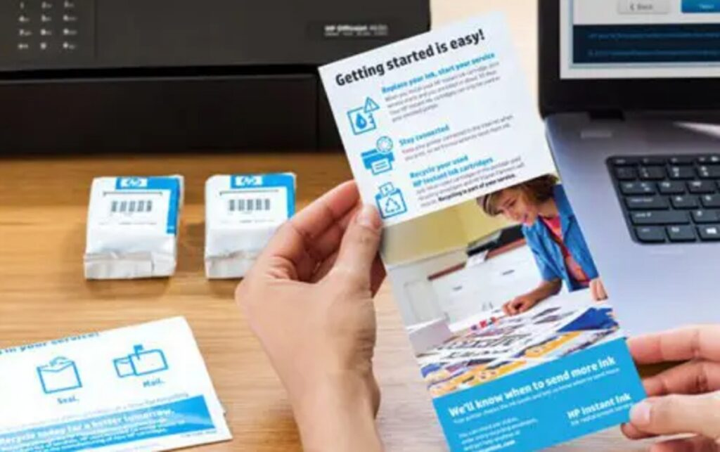 how to disable HP instant ink to print again