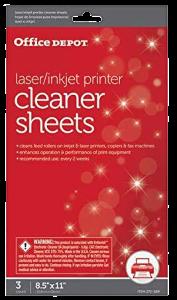 office depot cleaner sheet